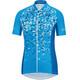 GORE WEAR C3 Petals maglietta a maniche corte Donna blu